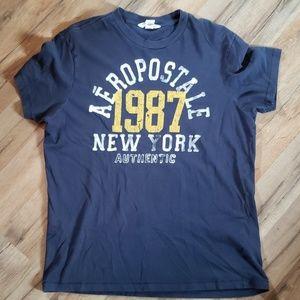 Aeropostale Short Sleeve T Shirt Size Large